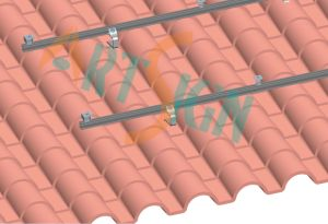 Pitched Roof Solar Mounting System-Metal Tile Roof pictures & photos