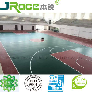 EPDM Indoor Basketball Court Synthetic Flooring (JRACE) pictures & photos