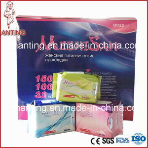 Ultra Thin Sanitary Napkins/ Female Women Lady Pad with Anion Chip pictures & photos