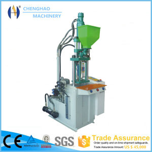Vertical Type Injection Molding Machine with High Quality Servo Motor in China