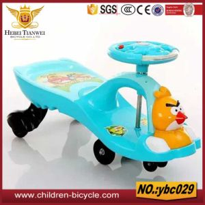 Strong Seat with Bear Toys Plastic Baby Swing Car pictures & photos