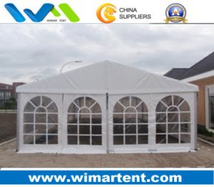 8mx6m White Aluminum PVC Party Tent