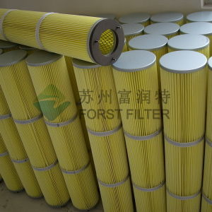 Forst Polyester Spunbond Pleated Filter Cartridge pictures & photos