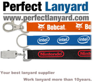 Promotional Lanyard with Customer Logo pictures & photos