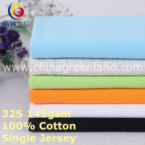 Knitted Cotton Single Jersey Fabric for Shirt Textile (GLLML376) pictures & photos