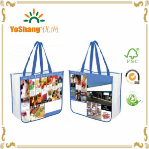 Non Woven Shopping Bag with 3D Customised Print pictures & photos