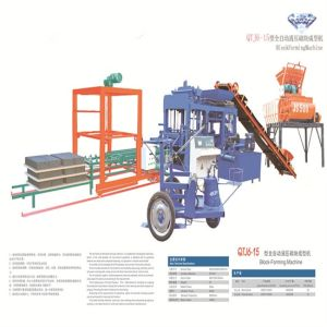Hot Sell Qtj6-15 Full Automatic Concrete Block Machine /Paver Block Machine pictures & photos