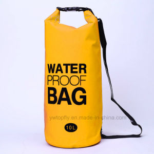 d7dcbcf041 China Outdoor Sports 10L PVC Waterproof Barrel Backpack Dry Bag ...