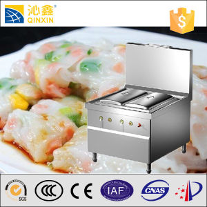 Hall Canteen Induction Electric Steamed Rice Rolls Furnace Cooker pictures & photos