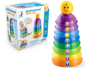 Intelligence Funny Stack Cup Toy for Baby (H0940618) pictures & photos