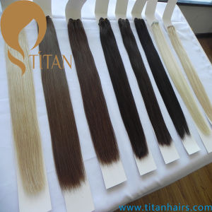Virgin Remy Human Hair Extension Hair Weave (Titan hair)