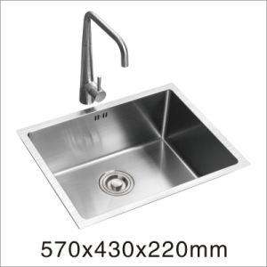 Handmade Kitchen Stainless Sink (5743s) pictures & photos