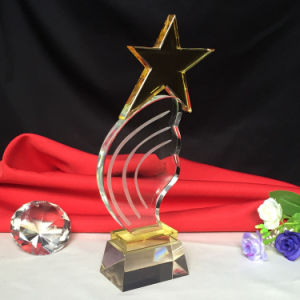 High Quality Crystal Glass Trophy Home Decoration pictures & photos
