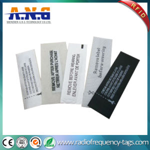 Washable Woven UHF RFID Clothing Tag for Garment Stores/Storage/Clothes Retail Store pictures & photos