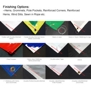 Cheap Custom Roll PVC Mesh Banner pictures & photos