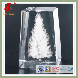 Crystal Cube with 3D Laser Logo Engraving Can Be Customized pictures & photos
