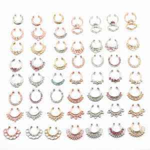 Fashion Body Piercing Jewelry Indian Nose Septum Piercing Rings