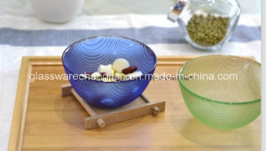 Colorful Machine-Made Glass Bowl (W-07) pictures & photos