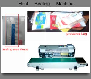 Paper Bag Heat-Sealing Machine (semi-automatic;) pictures & photos