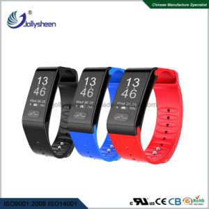2017 Latest Model of Heart Rate Blood Pressure ECG/PPG Bluetooth Smart Health Bracelet Ce, RoHS, FCC Standards