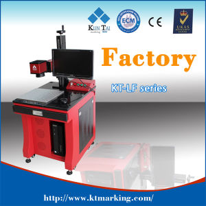 CE FDA 20W Fiber Laser Marking Machine for Lock pictures & photos