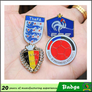 Customized Design World Cup Football Club Pin Badges