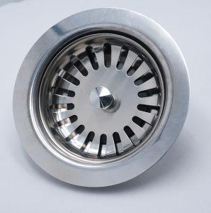 Metal Sink Strainer Spanish Style Kitchen Sink Basket Strainer