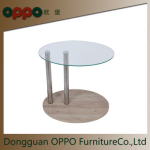 China Occasional Table Round Glass Countertop Coffee Table Home