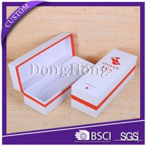 Wholesale Cardboard Paper single Wine Gift Packaging Box for Bottle