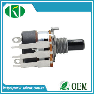 16mm Rotary Potentiometer with Switch Wh168-4 pictures & photos