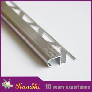 Aluminum Ceramic Tile Curved Stair Nosing Trim Profiles In Latest Design