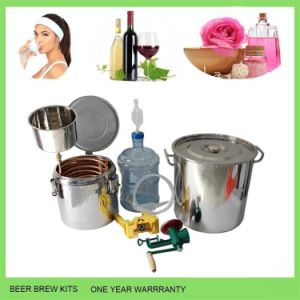 30L/8gal Home Beer Alcohol Distiller Moonshine Still Distilling Beer Berwing Equipment