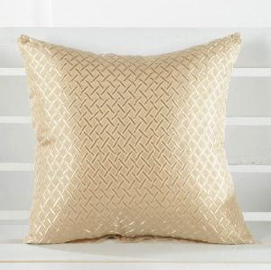 Squares Cotton Linen Throw Pillow Case Cushion Cover (DPF107147) pictures & photos