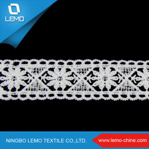 French Lace with Sequins, Softtextile Guipure Nigerian Lace Fabric pictures & photos