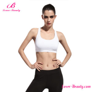 No MOQ White Fitness Workout Sports Wear Yoga Bra