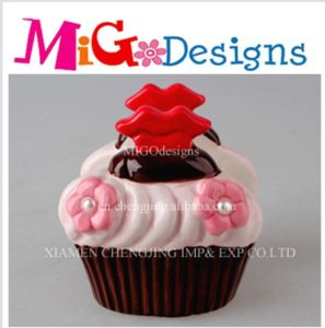 Wholesale Stunning Napkin Stand Cupcake Ceramic Canister pictures & photos