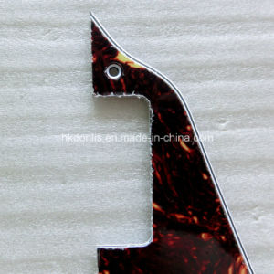 4ply Real Celluloid Brown Tortoise Lp Guitar Pickguard pictures & photos