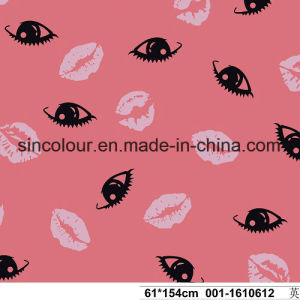 Lip Print 80%Nylon 20%Spandex Swimwear Fabric for Swimwear pictures & photos