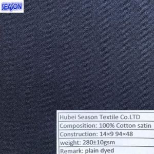 Cotton 14*9 94*48 280GSM Twill Woven Cotton Fabric Women Clothes Textile pictures & photos