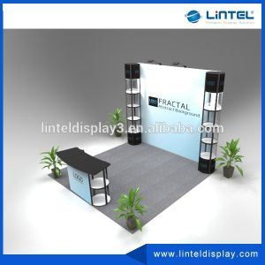 Portable Exhibition Trade Show Booth with Lights pictures & photos