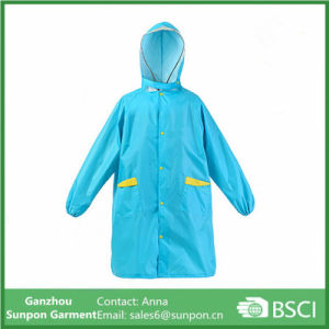 Rainproof Polyester Rain Coat for Children
