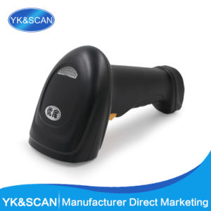 Cheap Hand-Held 1d Laser Barcode Scanner Yk-910 USB pictures & photos