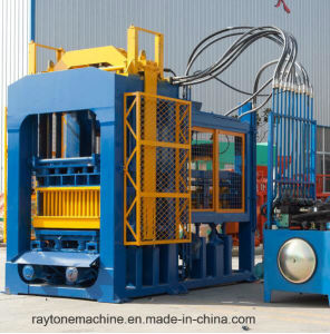 Qt10-15 Automatic Concrete Hollow Block Making Machine Cement Brick Forming Machine pictures & photos