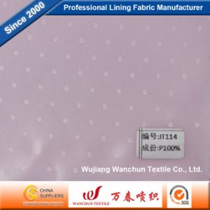 100% Polyester Dobby Fabric for Garment Lining Jt114