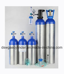 DOT Serial Aluminium Medical Oxygen Cylinder pictures & photos