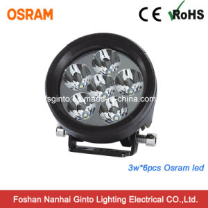 10-30V 18W Spot LED Work Fog Light for Jeep Boat Offroad, 4WD Truck pictures & photos