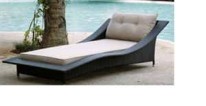 Leisure Daybed Rattan Outdoor Furniture-14 pictures & photos