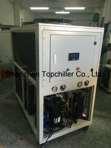 -5c/-10c Air to Water Chiller with Glycol Liquid Circuation System