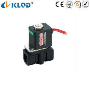 2p Sereies Low Price Micro Plastic Solenoid Valve 220V AC pictures & photos