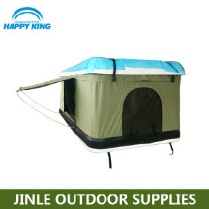 Hot Sale Hard Cover Camping Roof Top Tent for Self-Driving Travelling